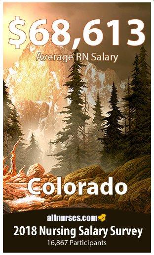 Colorado registered nurse salary