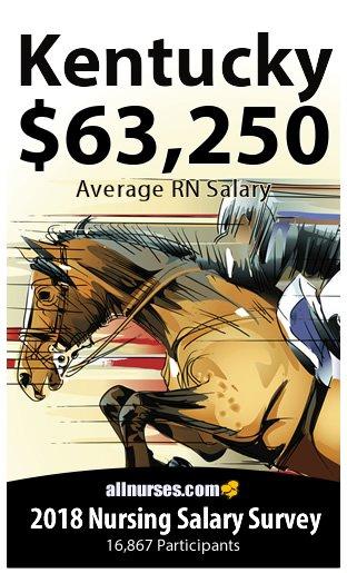 Kentucky registered nurse salary