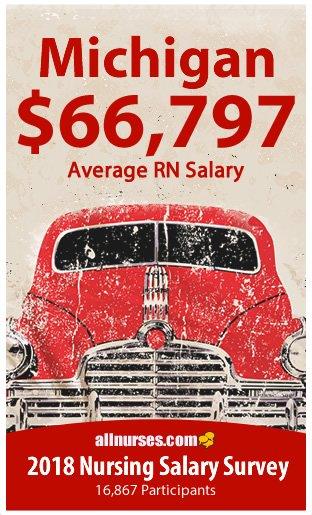 Michigan registered nurse salary