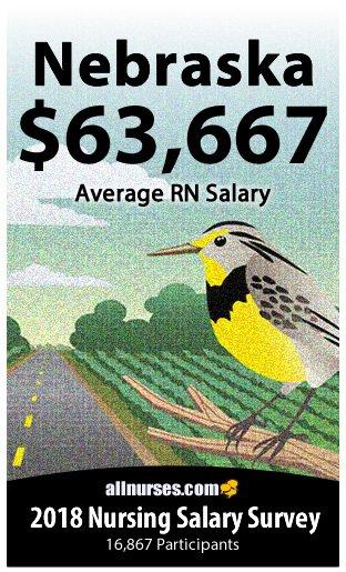 Nebraska registered nurse salary