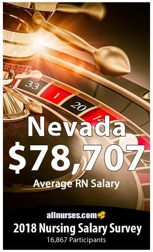 Nevada registered nurse salary