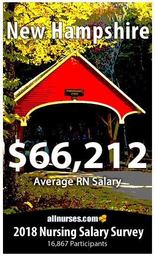 New Hampshire registered nurse salary