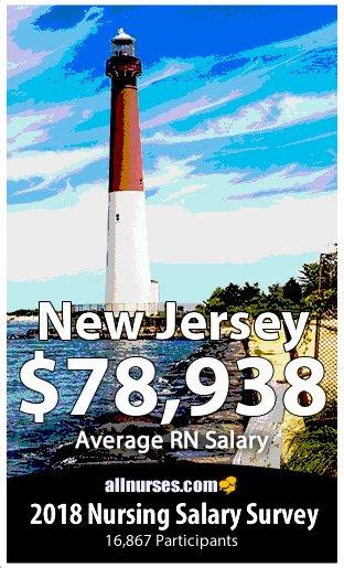 New Jersey registered nurse salary
