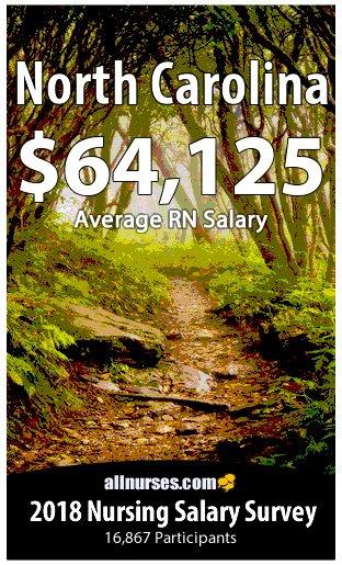 North Carolina registered nurse salary