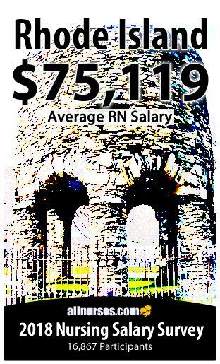 Rhode Island registered nurse salary