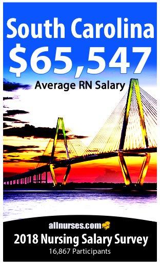 South Carolina registered nurse salary