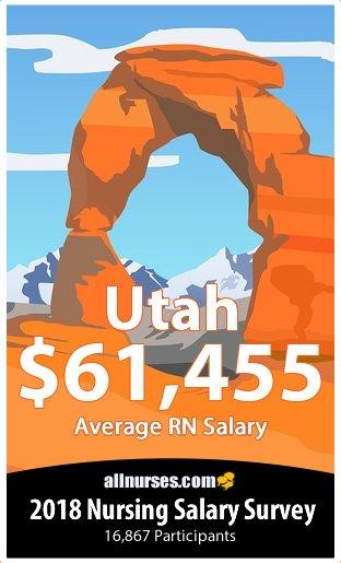 Utah registered nurse salary