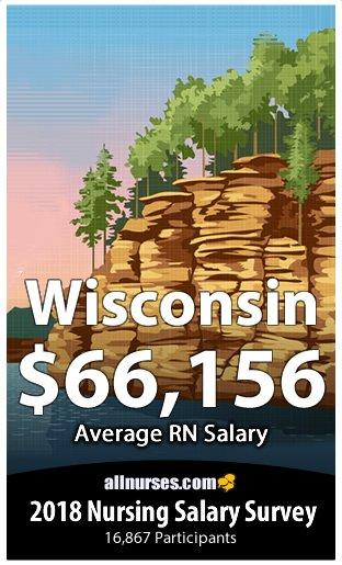 Wisconsin registered nurse salary